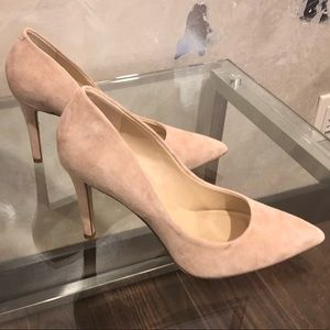 Saks Fifth Avenue Cady Suede Pumps